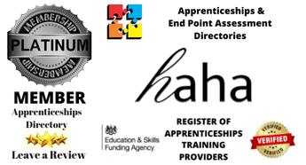 Delighted to welcome HAHA Training Platinum member Apprenticeships Directory