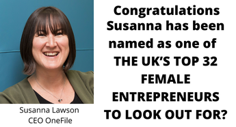 Congratulations: Susanna Lawson listed as one of the top women entrepreneurs to look out for