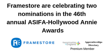 Framestore are celebrating two nominations in the 46th annual ASIFA-Hollywood Annie Awards