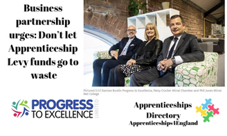 Business partnership urges: Don't let Apprenticeship Levy funds go to waste