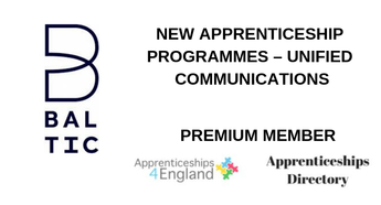 NEW APPRENTICESHIP PROGRAMMES – UNIFIED COMMUNICATIONS