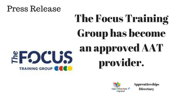 Press Release: The Focus Training Group has become an approved AAT provider.
