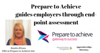 Prepare to Achieve:  guides employers through end-point assessment