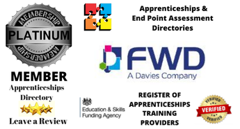 Delighted to welcome FWD Training & Consultancy Platinum Member Apprenticeships Directory