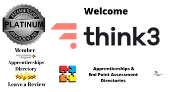WELCOME:  Think 3 Apprenticeships Directory