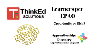 Learners per EPAO: Apprenticeships Directory