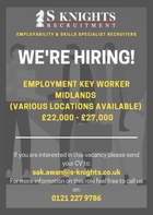 Employment Key Worker