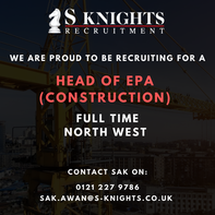 Head of EPA for a specialist Construction End Point Assessment Organisation.
