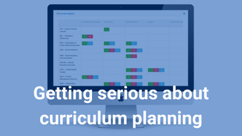 Getting serious about curriculum planning