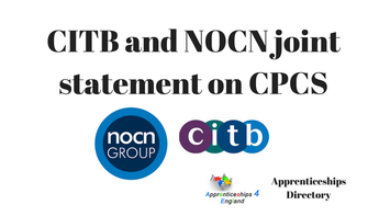 CITB and NOCN joint statement on CPCS