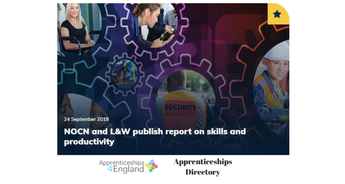 NOCN and L&W publish report on skills and productivity