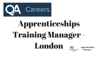 Apprenticeships Training Manager