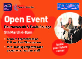 Bournemouth & Poole College - March Open Event
