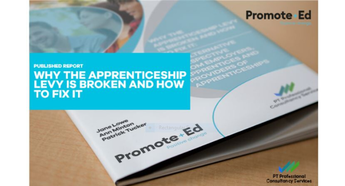 Published Report: Why the Apprenticeship Levy is broken and how to fix it