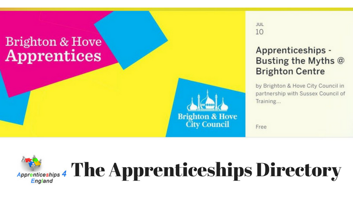Apprenticeships - Busting the Myths @ Brighton Centre