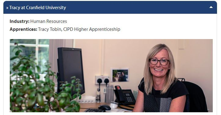 Meet our apprentics: Tracy Tobin, CIPD Higher Apprenticeship