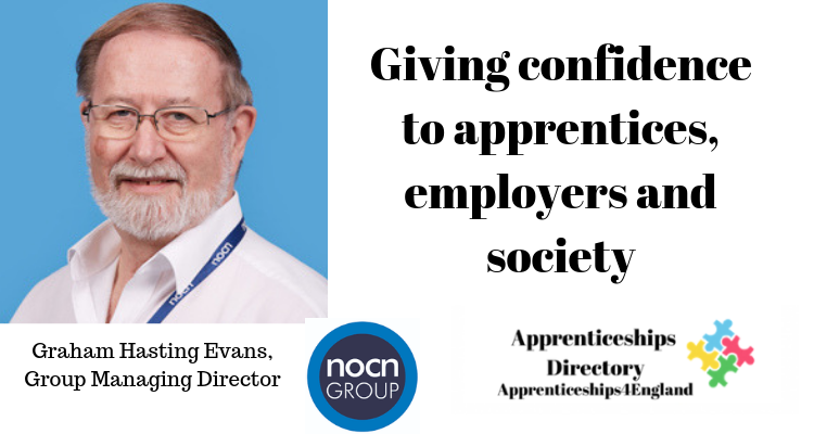 Giving confidence to apprentices, employers and society