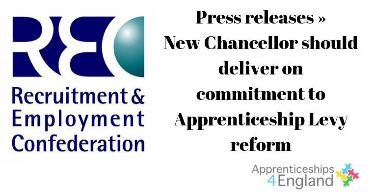 Call for Chancellor to deliver on commitment to Apprenticeship Levy reform.