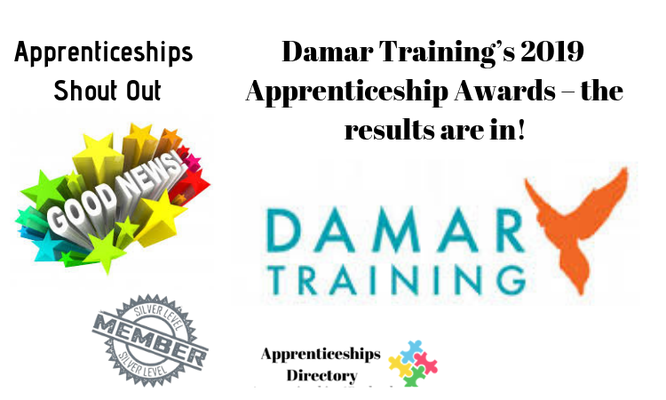 Damar Training's 2019 Apprenticeship Awards – the results are in!