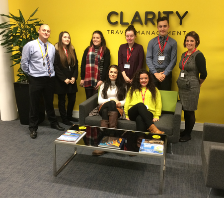 Damar and Clarity celebrate first successes for travel consultant apprentices
