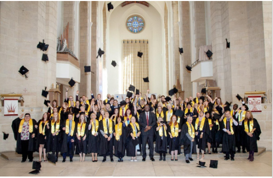GRADUATION 2018 AT GUILDFORD CATHEDRAL