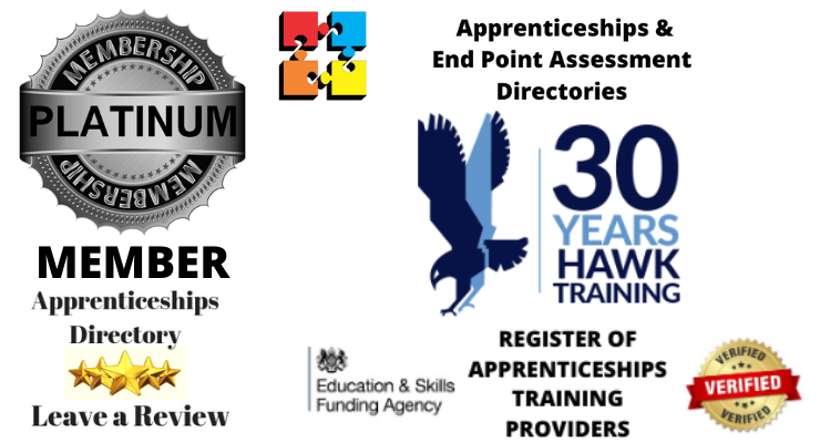 Delighted to welcome Hawk Training@ Platinum Member Apprenticeships Directory