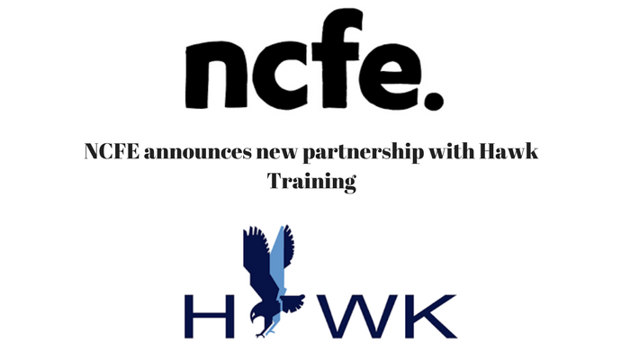 NCFE announces new partnership with Hawk Training