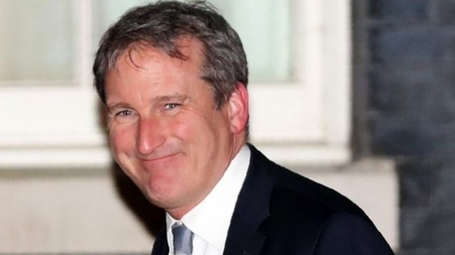 Damian Hinds has been announced as England's education secretary in the prime minister's Cabinet reshuffle.