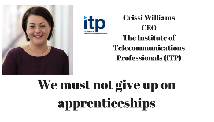 We must not give up on apprenticeships