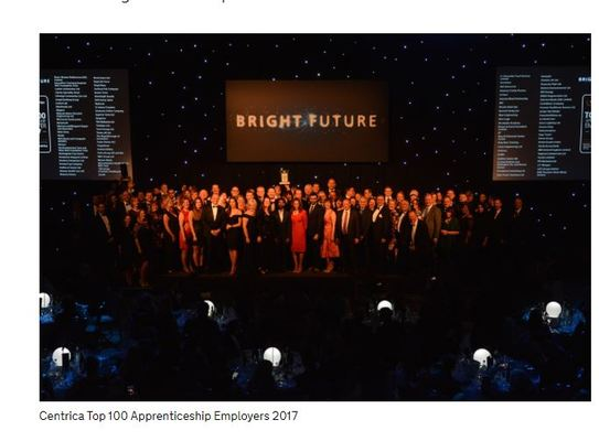 Top 100 Apprenticeship Employers 2017