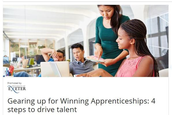 Gearing up for Winning Apprenticeships: 4 steps to drive talent