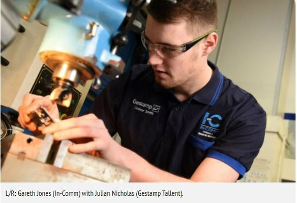 GESTAMP TALLENT SIGNS APPRENTICESHIP PARTNER @IN-Comm