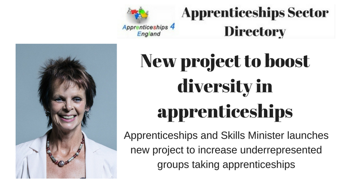 New project to boost diversity in apprenticeships