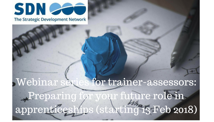 Trainer-assessors - preparing for your future role in apprenticeships