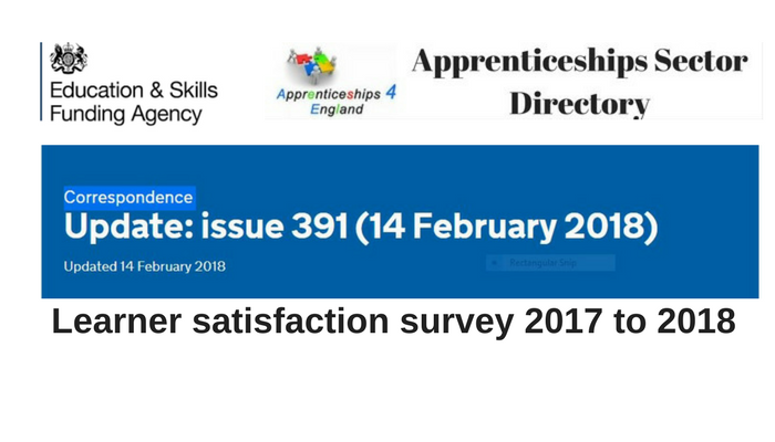 Learner satisfaction survey 2017 to 2018