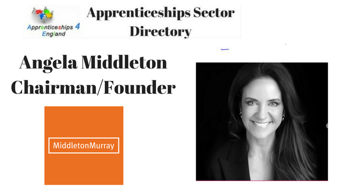 Tuesday Thoughts from Angela Middleton about being a woman in business, what adversity she's faced & how to 'get ahead