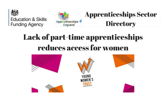 Lack of part-time apprenticeships reduces access to women