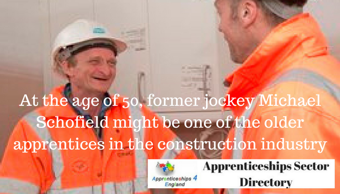 Retired jockey shows apprenticeships are not just for the young