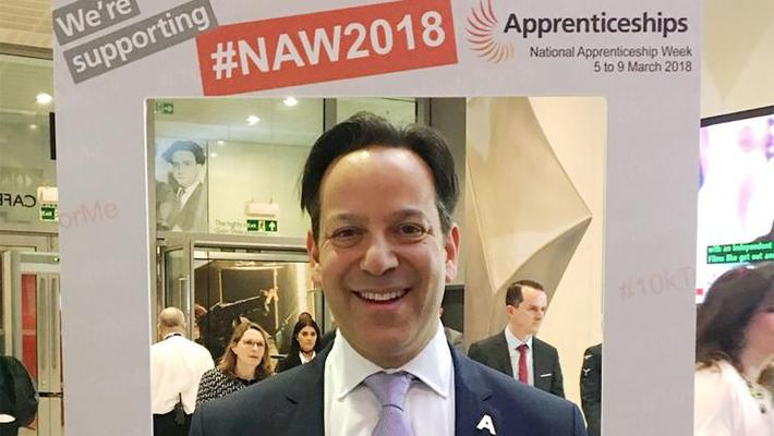 Congratulations:Jason Holt CBE, the chief executive of HoltsGroup, has been named chair of the Apprenticeship Ambassador Network
