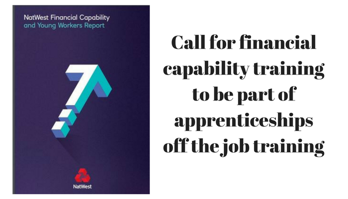 Call for financial capability training to be part of apprenticeships off the job training