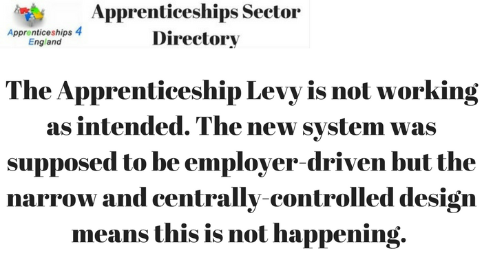 Levy in question as apprenticeships fall