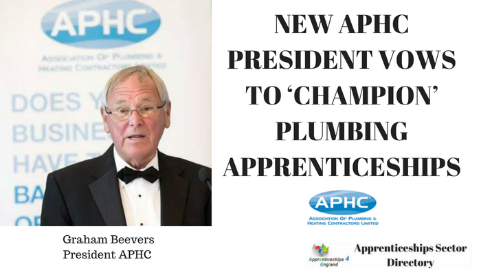 New Aphc President Vows To Champion Plumbing Iceships