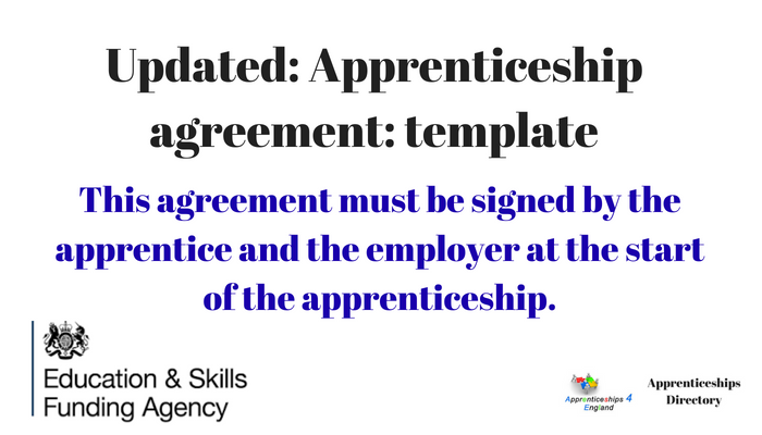 Updated: APPRENTICESHIP AGREEMENT TEMPLATE