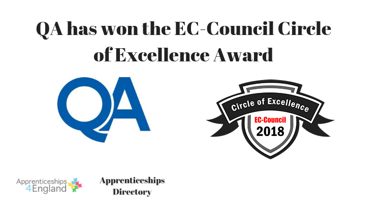 QA has won the EC-Council Circle of Excellence Award