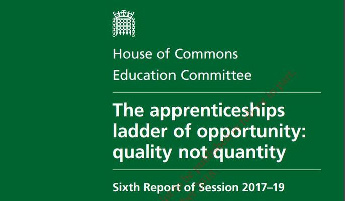 The apprenticeships ladder of opportunity: quality not quantity