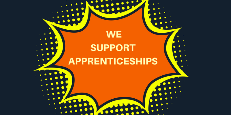 Add The We Support Apprenticeships Badge to your website