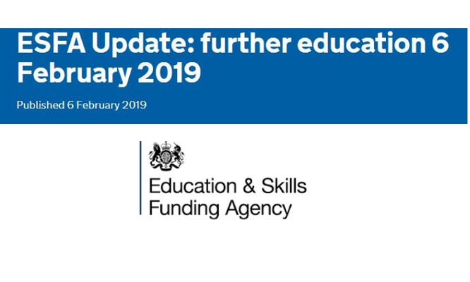 ESFA Update: further education 6 February 2019 (Apprenticeships Directory)