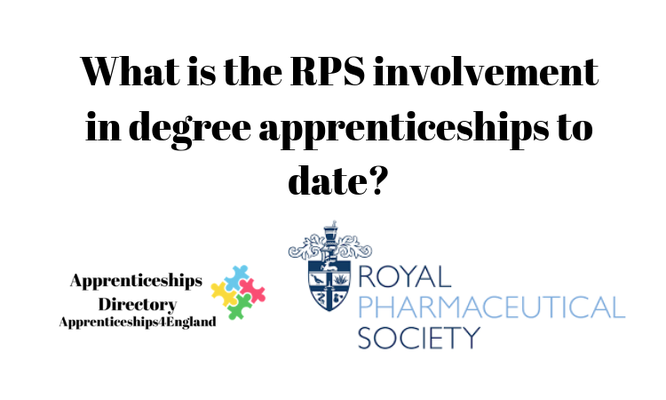 What is the RPS involvement in degree apprenticeships to date?