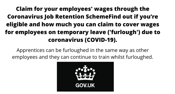 Claim for your employees' wages through the Coronavirus Job Retention Scheme