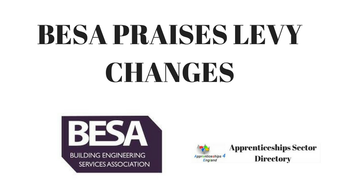 BESA PRAISES LEVY CHANGES